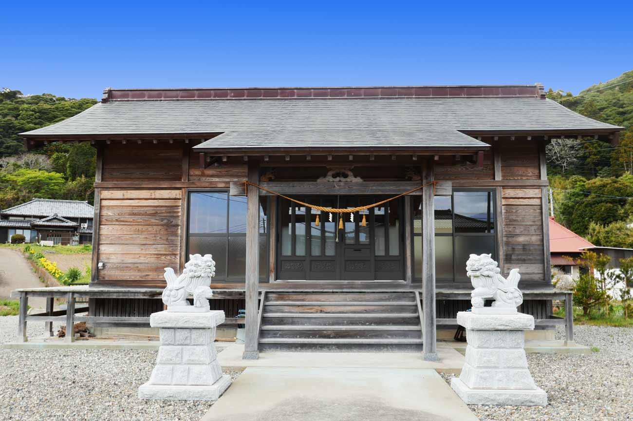 上三原神社拝殿の画像