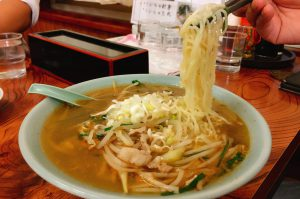 菊川食堂のタンメンのアップ