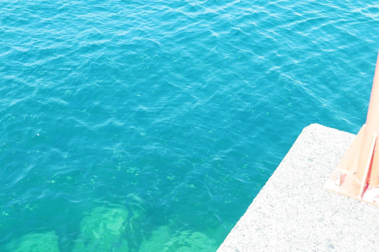 堤防先端のポイント