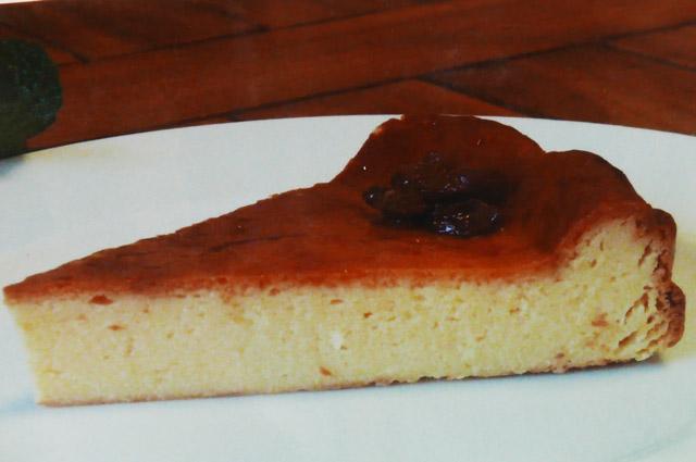 ベイクドチーズケーキの画像