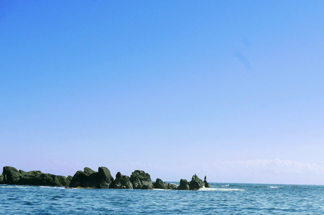 野島崎先端の磯釣り場