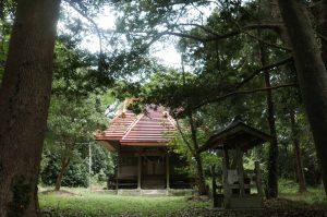 諏訪神社【南房総市和田町花園】