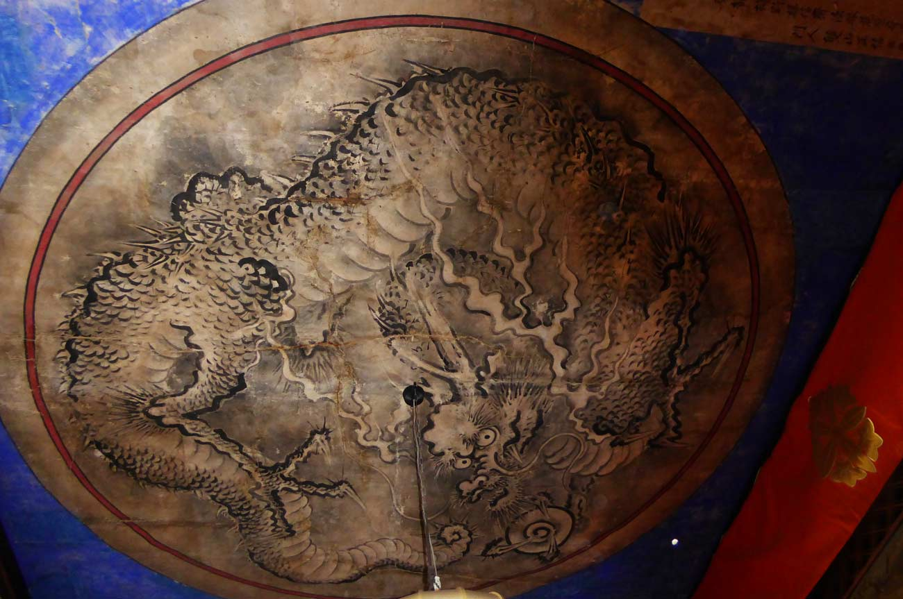 東福寺の天井画