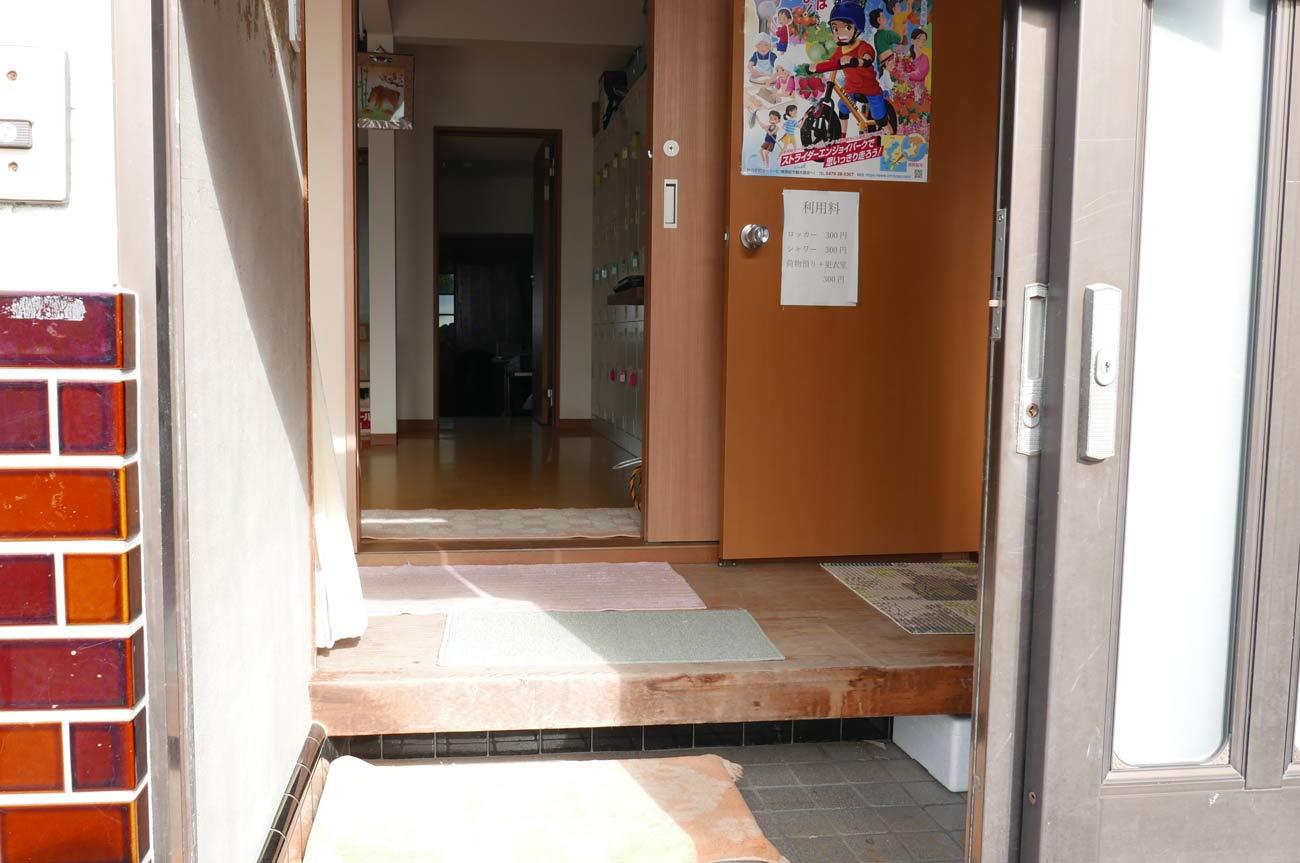 浜静月の玄関