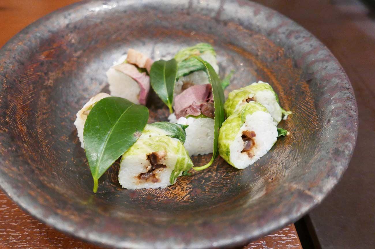 猪の蕪博多寿司