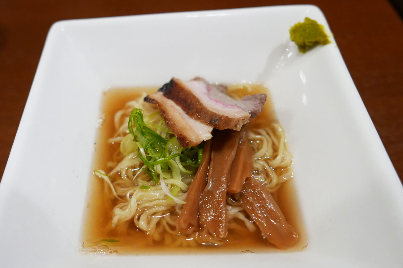 猪と鯛のWスープのラーメン