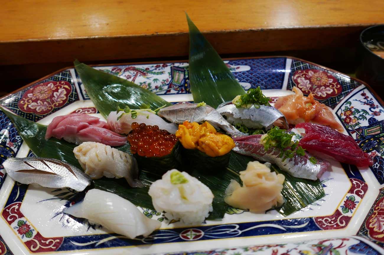 おまかせ寿司(にぎり)