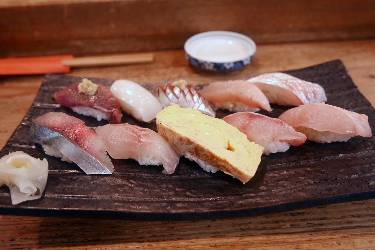 らかん松月のらかん寿司
