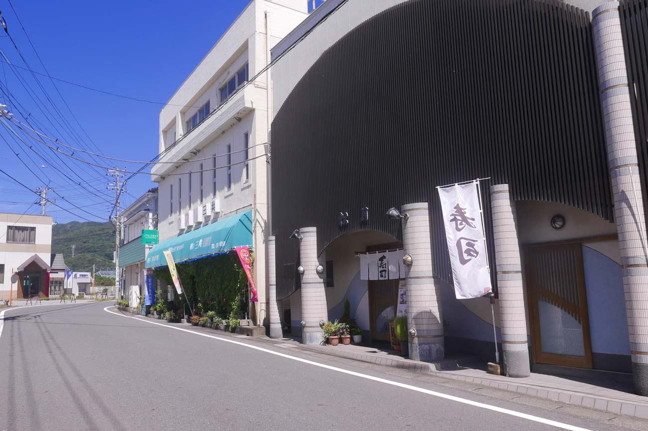 らかん寿司松月の店舗外観