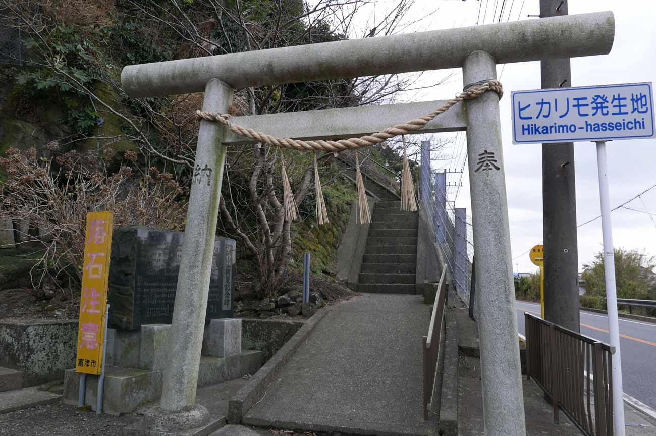 皇神社の鳥居