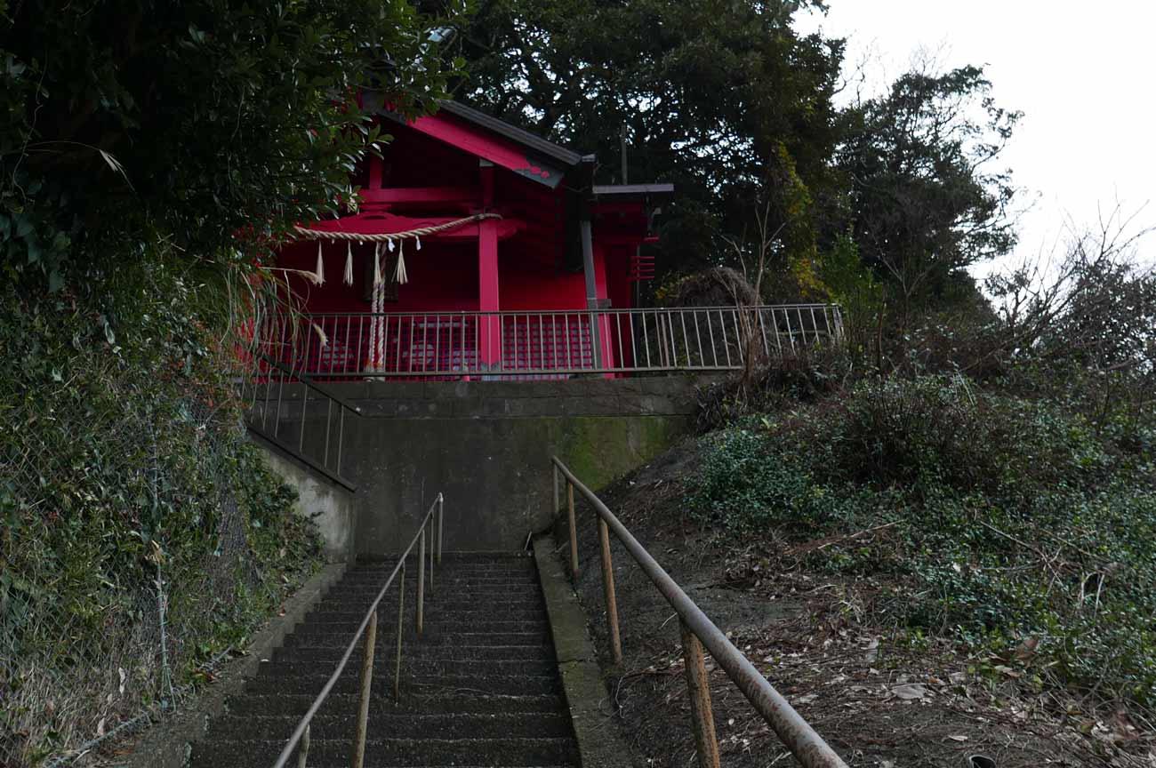 皇神社の拝殿