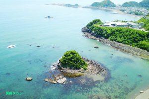 鴨川松島(空撮)