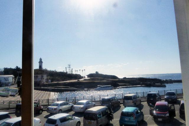 2階からの眺め(野島崎灯台)