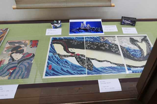 歌川国芳 宮本武蔵の鯨退治