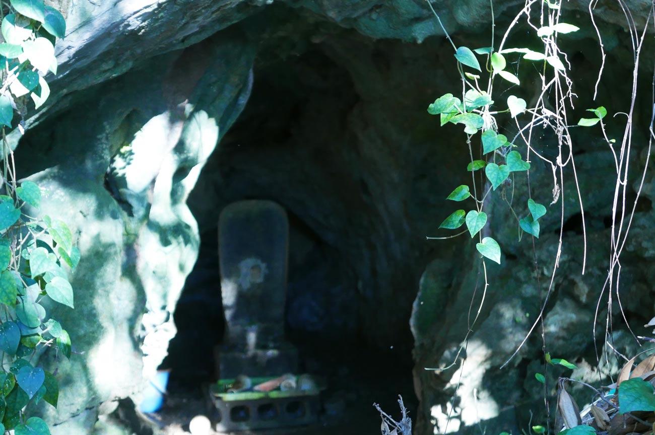 白浜鍾乳洞の内部