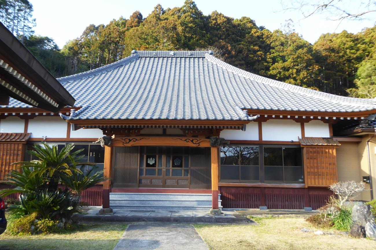 地済院の本堂