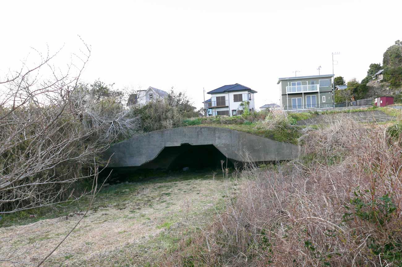 掩体壕の外観