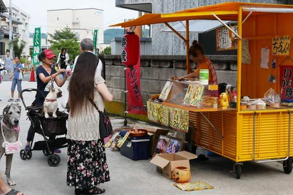 ちーちゃん串の屋台