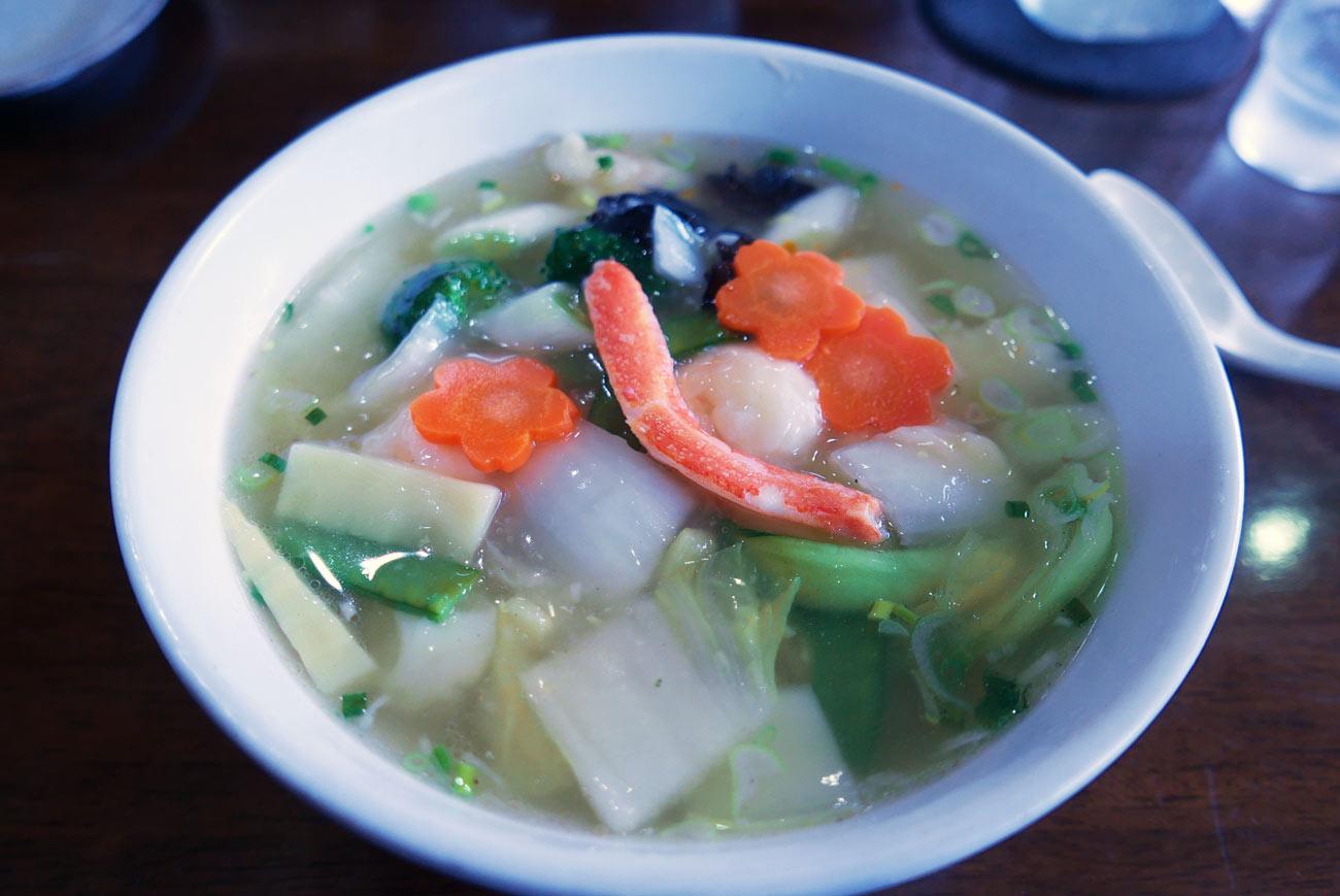 海鮮麺(塩味)