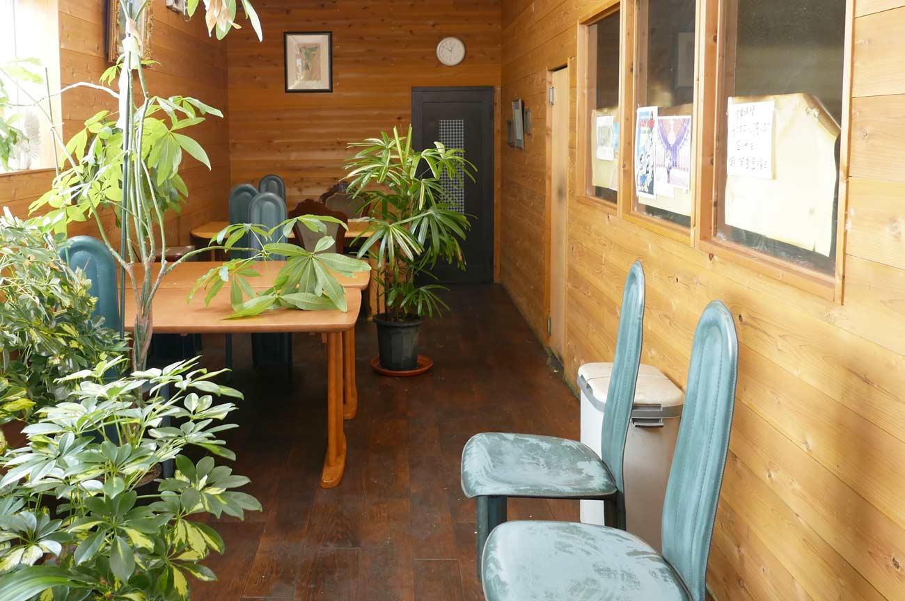 弁蔵のカフェスペース