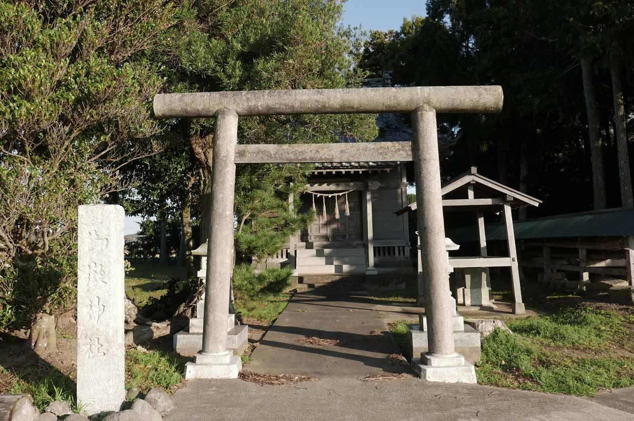 御嶽神社の鳥居