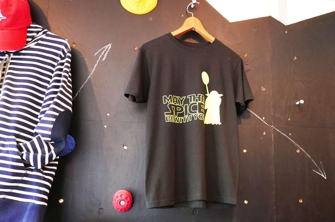 カレーTシャツ(表)