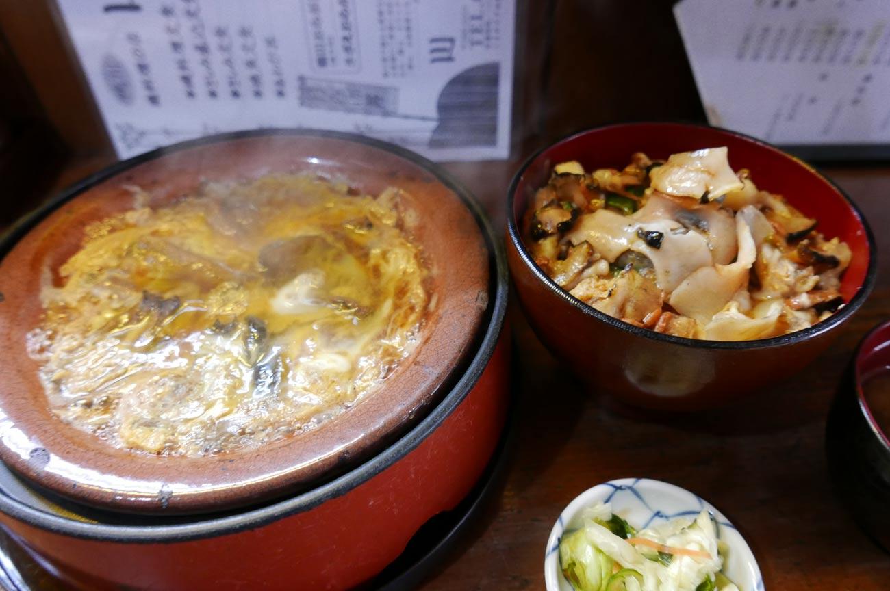 川京の柳川鍋とおらが丼