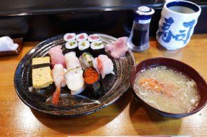 野島寿司の特上寿司