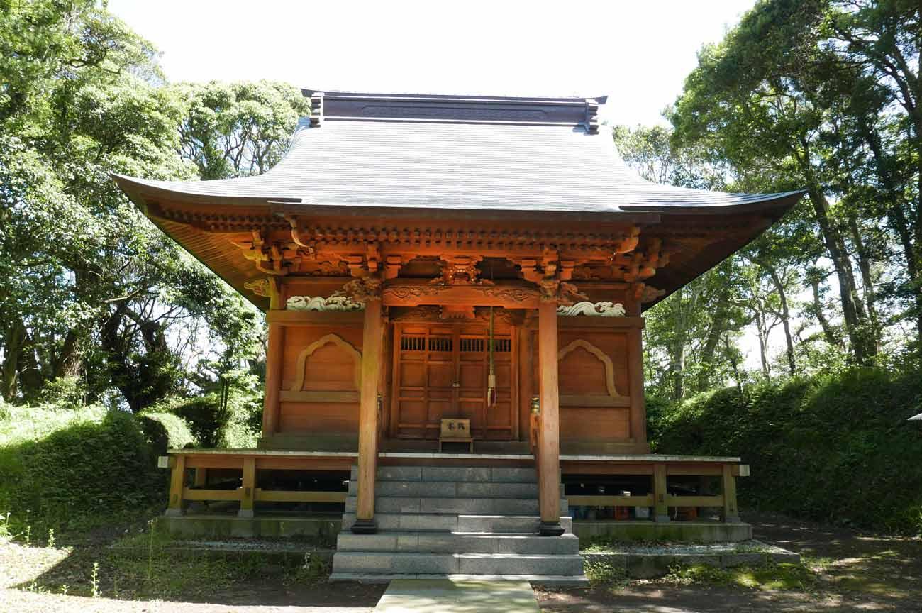 愛宕神社本殿の画像