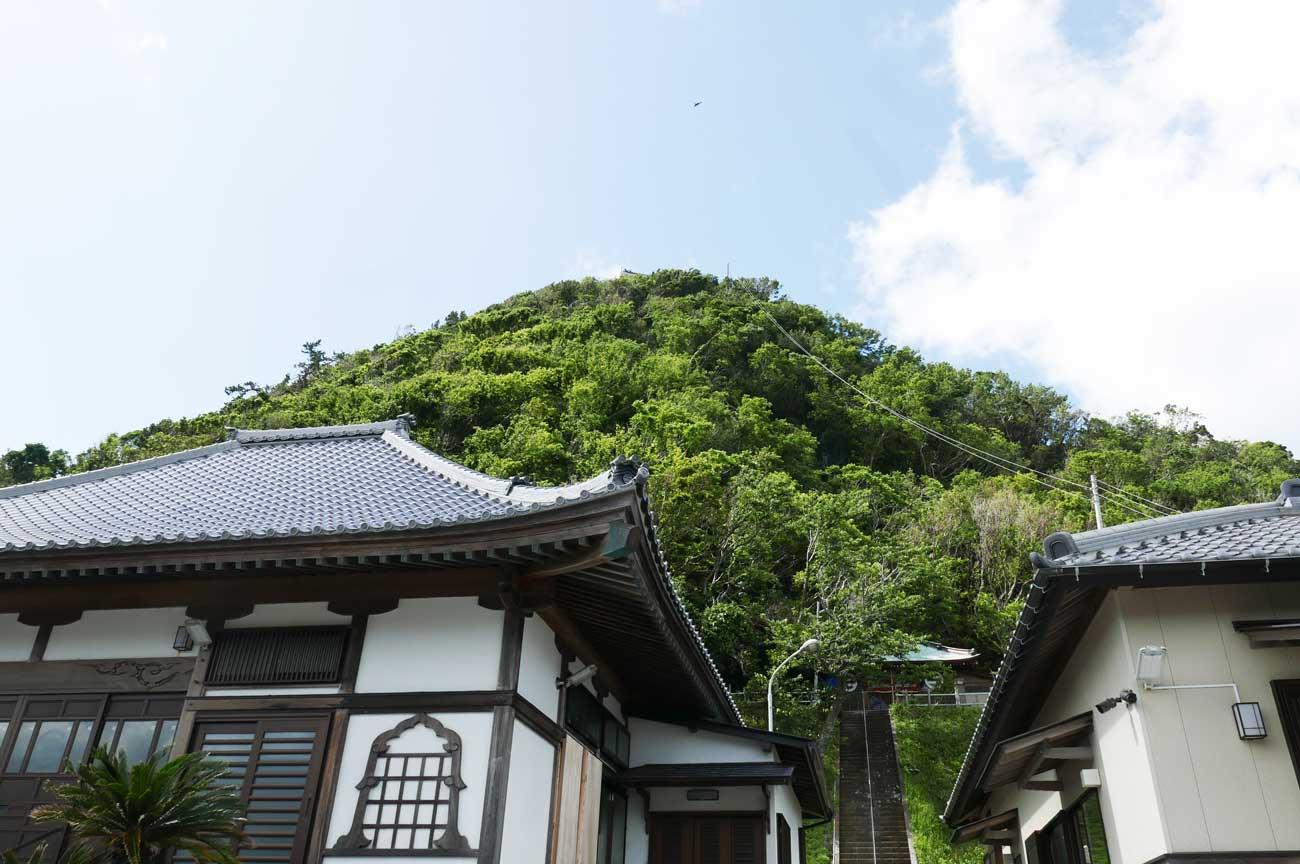 長谷寺本堂と観音堂