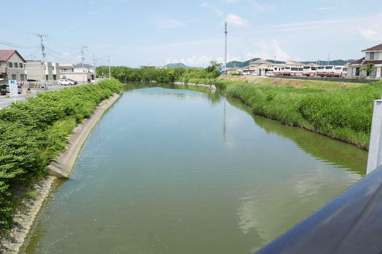 平成橋下流