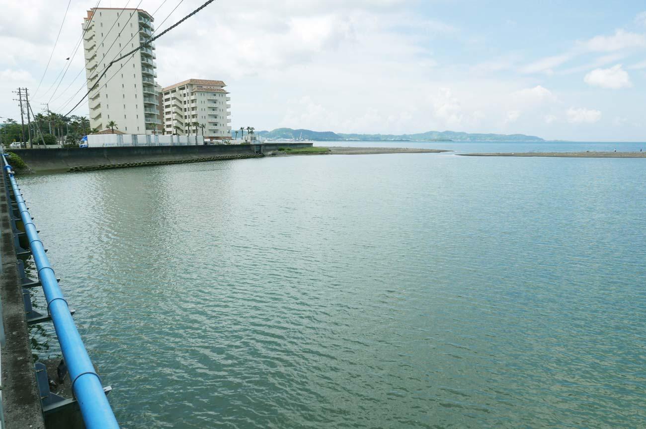 館山大橋下流