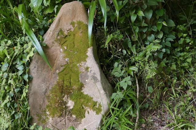 観音堂入口左側の石碑