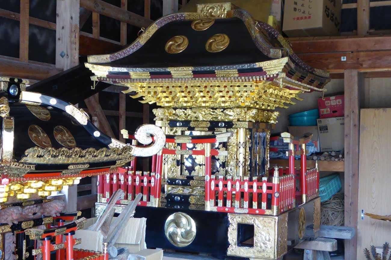 海上神社の神輿