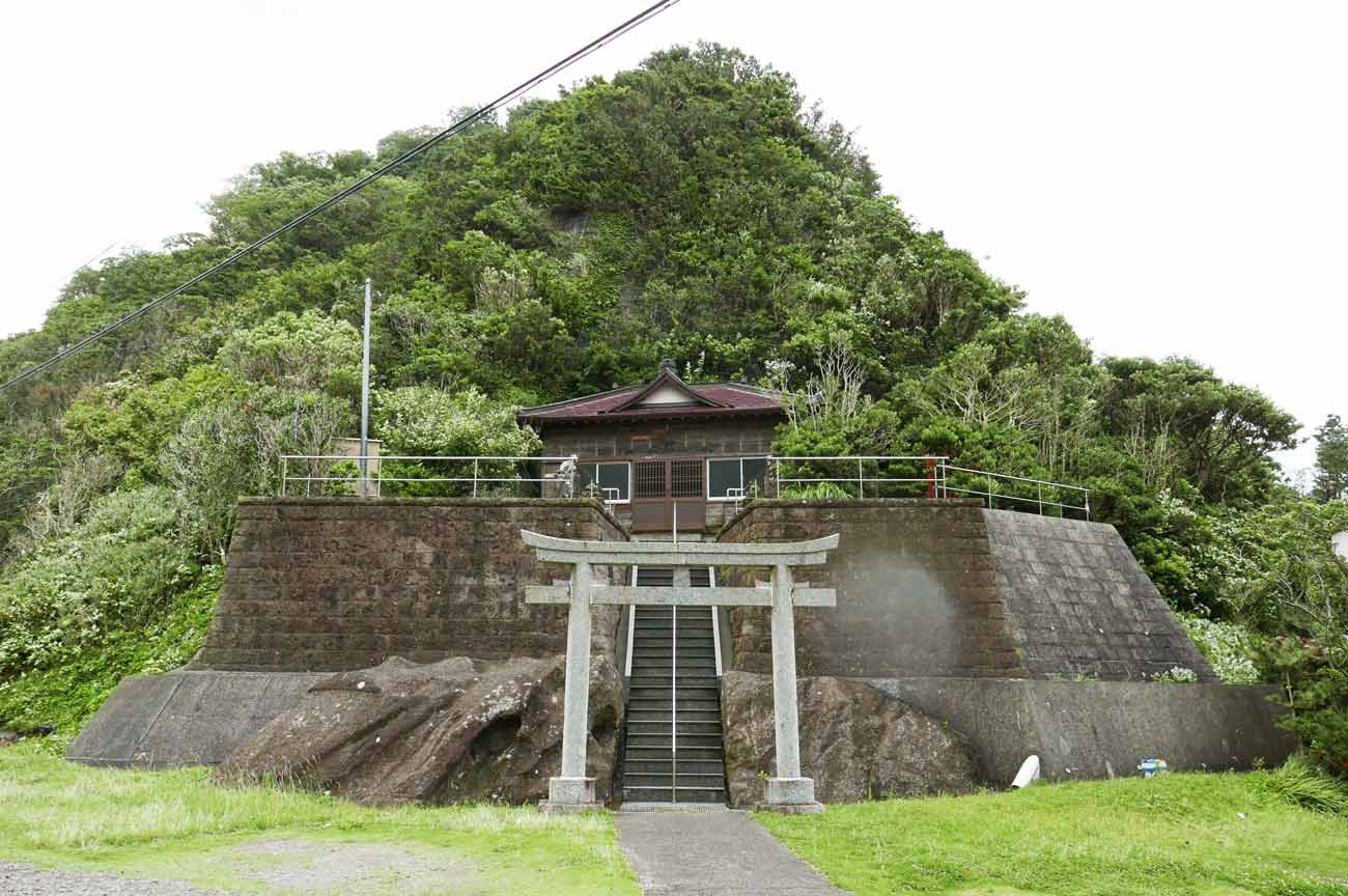 浅間神社の全景