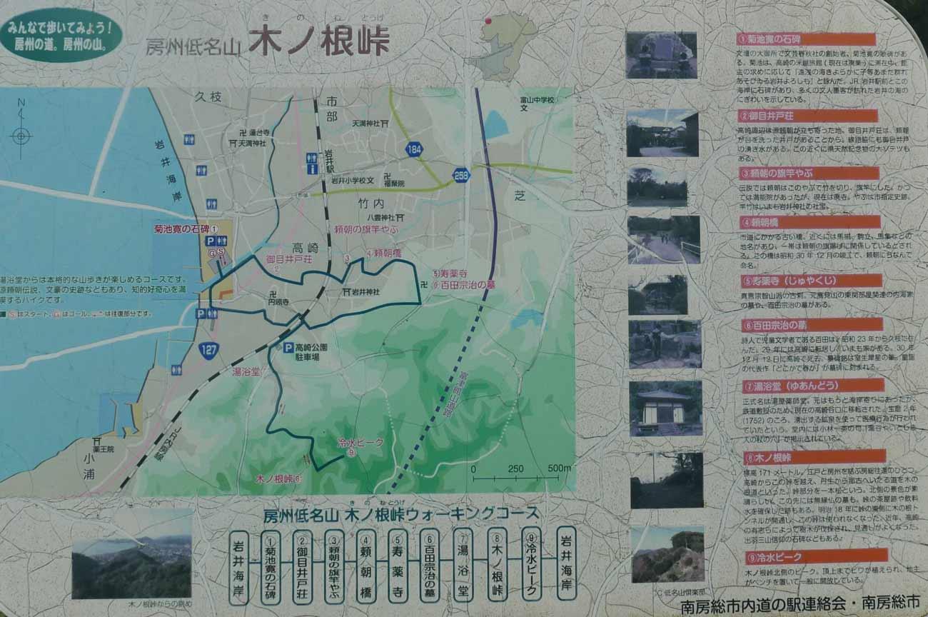 木ノ根峠ウォーキングコース
