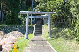 長尾三神社【畑地区唯一の神社】