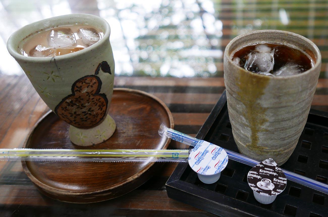 チャイと森林栽培コーヒー(ice)