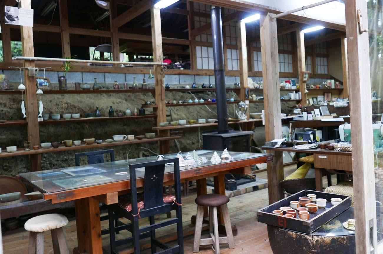 笹谷窯の陶器