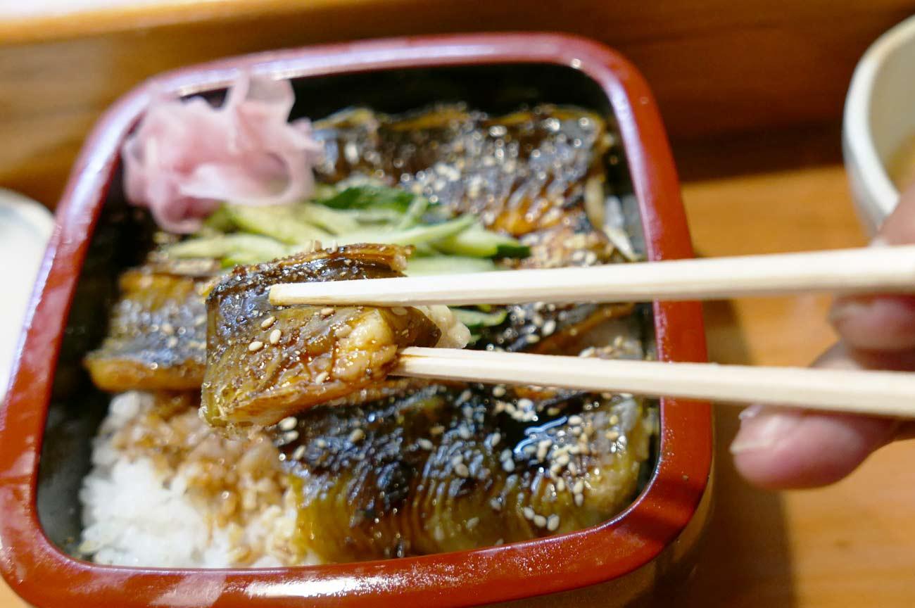 さとみ寿司のハカリメ丼