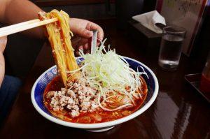 江ざわの上坦々麺