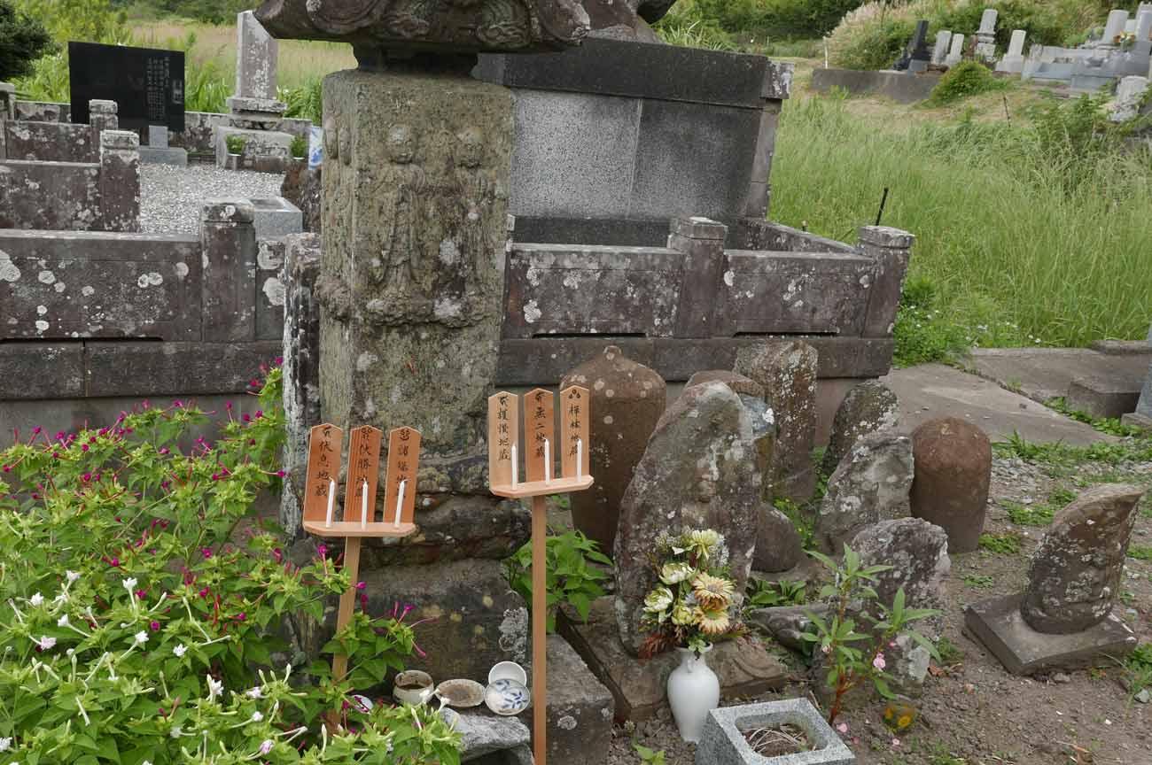 浄照寺の六地蔵