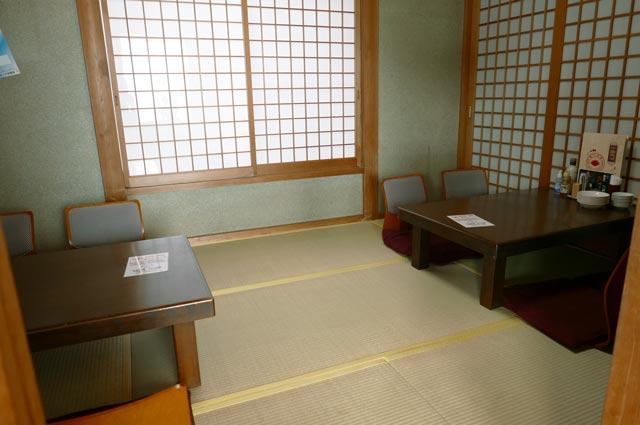 座敷の個室