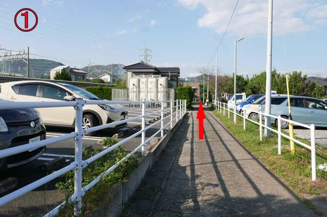道の駅和田浦WA・O!の駐車場