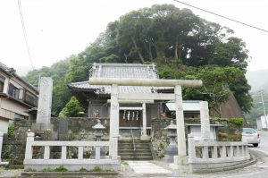 金谷神社の全景