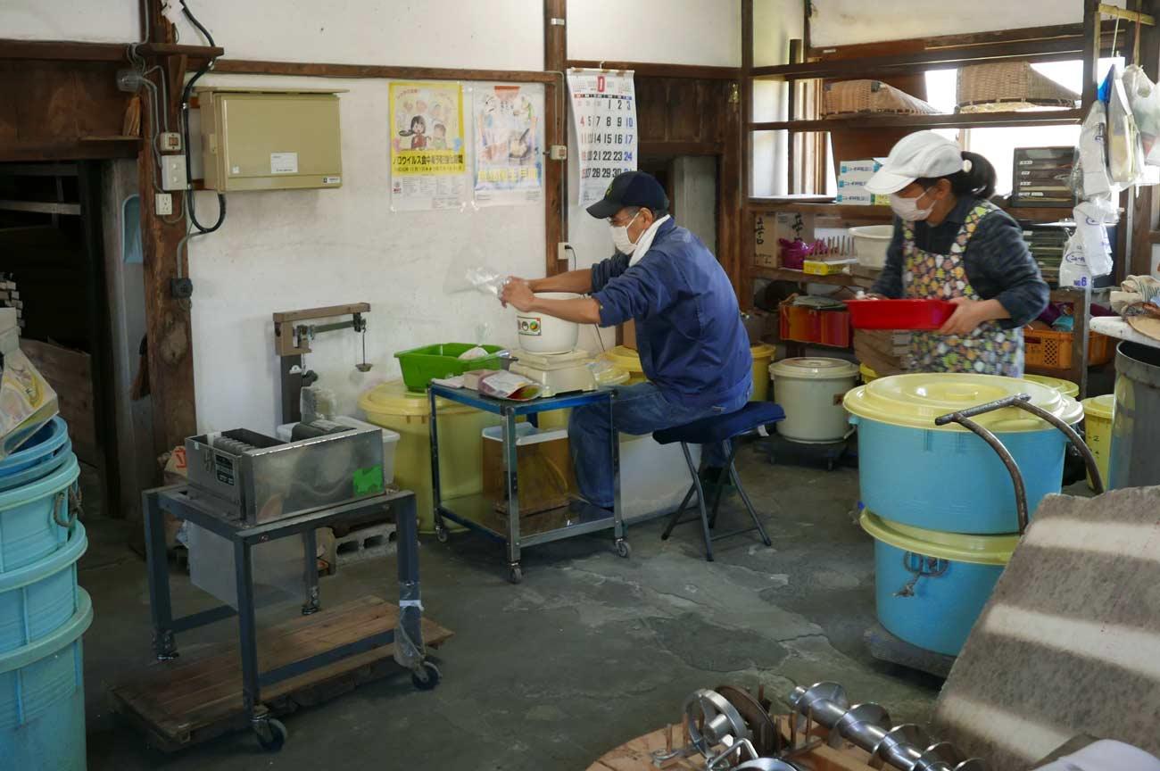 島田糀店の醸造所