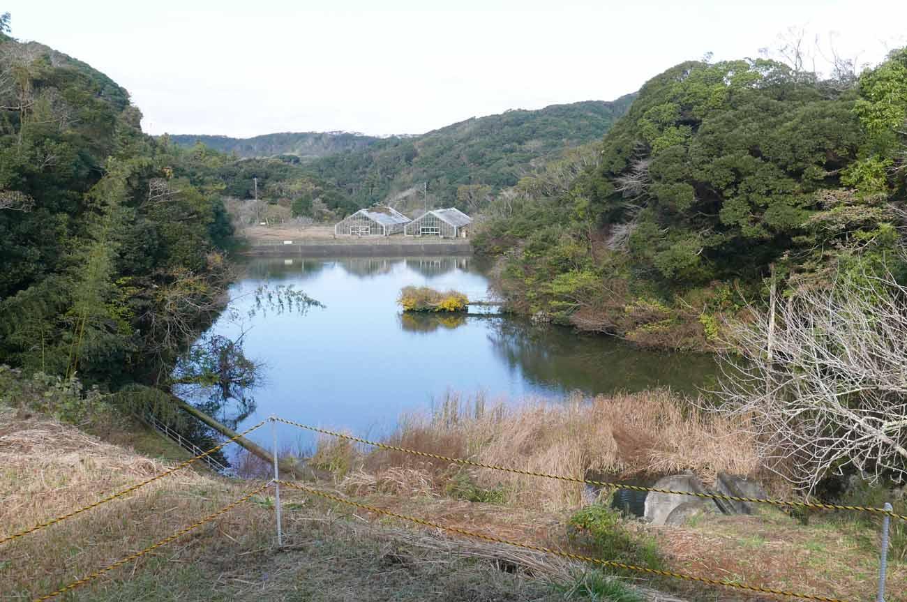 巴川源流の大正池