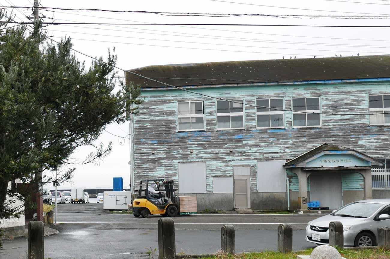 千倉漁港の建物