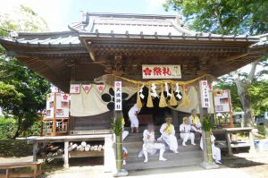 天満神社の拝殿