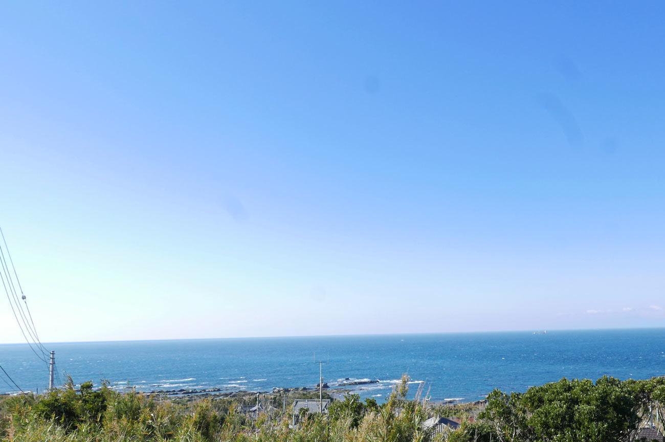 灯台からの景観